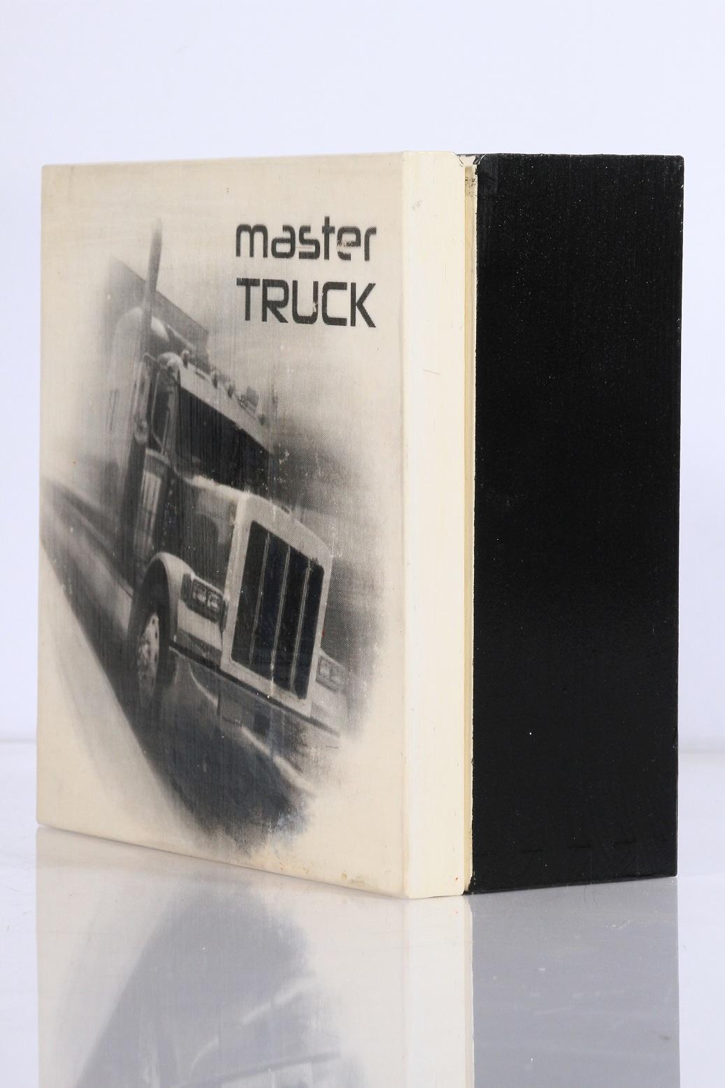 decoupage czarno białe ciężarówka dla mężczyzn chłopaka