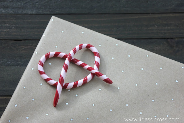 5 - candy cane pretzel fun easy clay ornament