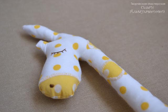 Жираф крупно